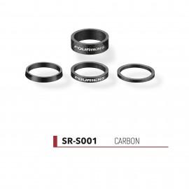Jeu d'entretoises Fouriers Carbone SR-S001
