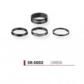 Jeu d'entretoises Fouriers Carbone Super-Light SR-E002