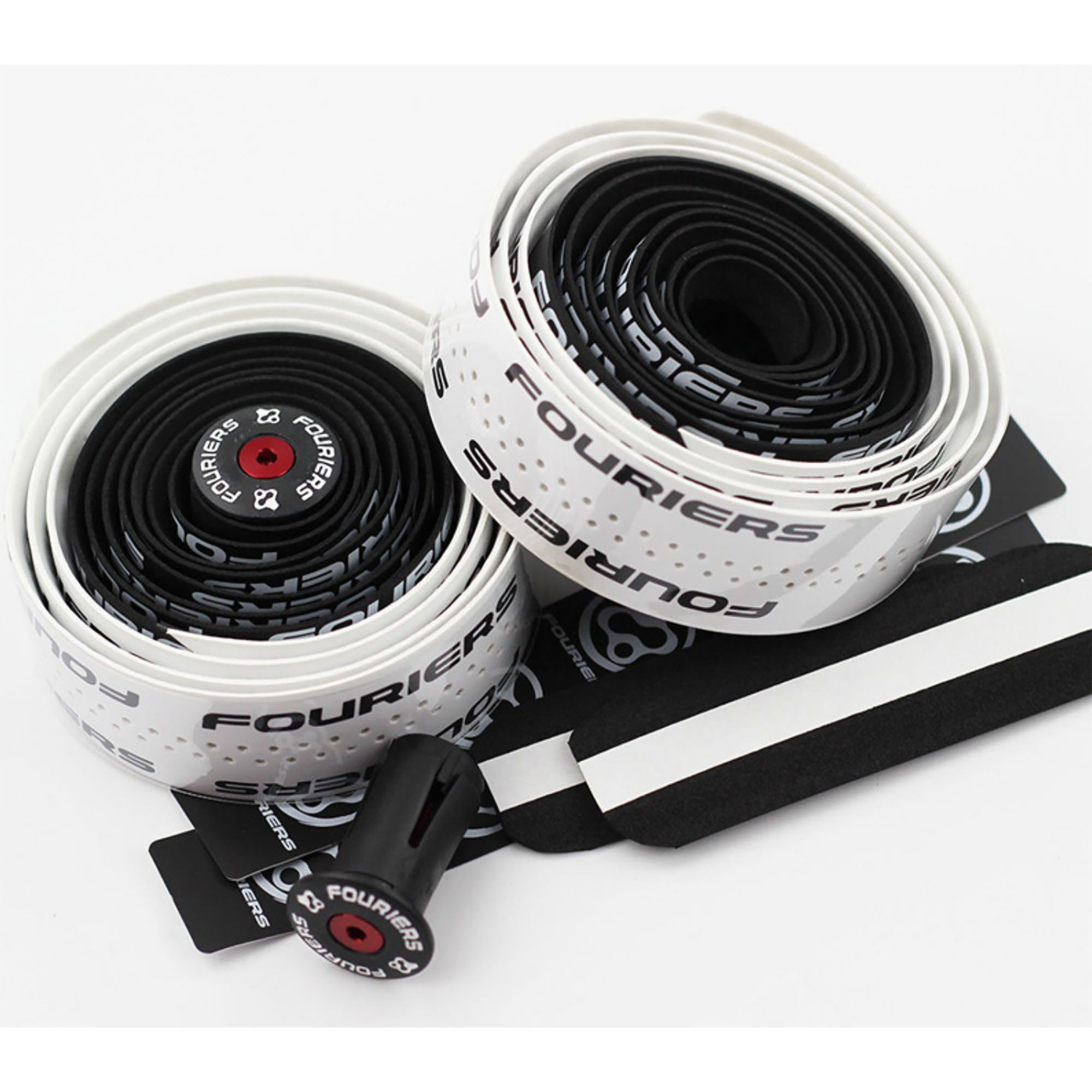 Guidoline Fouriers bicolore noir-blanc 3mm BP-S001-DC30