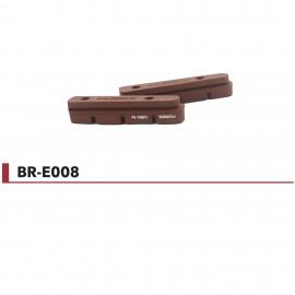 Patins de freins Fouriers SHIMANO® carbone BR-E008-SH-C001