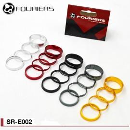 Jeu d'entretoises Fouriers Alu Super-Light SR-E002