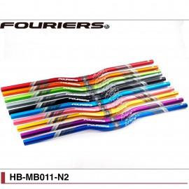 Cintre VTT aluminium Fouriers Ø31,8 par 720 / 780mm HB-MB011-N2