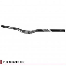 Cintre VTT Fouriers aluminium HG Ø31,8 x 780mm HB-MB012-N2
