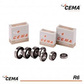 Roulement R6 CEMA Acier chromé