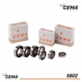 Roulement 6802 CEMA Acier chromé