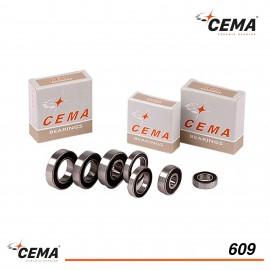 Roulement 609 CEMA Acier chromé