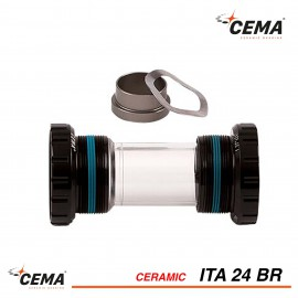 Boitier de pédalier céramique ITA 24 pour SRAM GXP® CEMA SRC-BT-ITA24BR