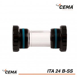Boitier de pédalier ITA 24 Inox pour SHIMANO® CEMA SRC-ITA24B-SS