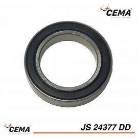 Roulement de pedalier 24377 billes chromées CEMA SRC-JS24377DD