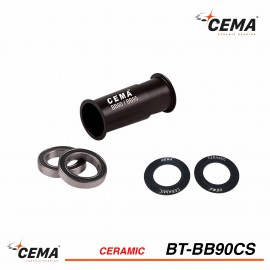 Boitier de pédalier BB90-BB95 céramique CEMA SRC-BT-90CS pour Shimano