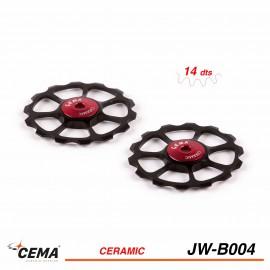 Galets de dérailleur céramique CEMA jw-b004 SRAM EAGLE