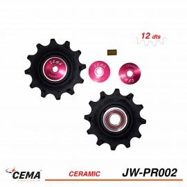 Galets de dérailleur ceramique CEMA jw-pr002 pour dérailleur SRAM