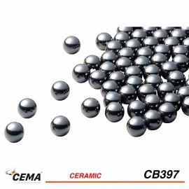 """Billes céramique 5/32"""" CEMA x50"""