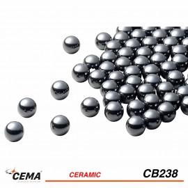 """Billes céramique 3/32"""" CEMA x50"""