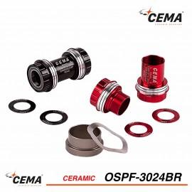 Boitier de pédalier Céramique CEMA ospf-3024br pour Spécialized SRAM