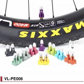 Bouchons de valve obus colorés Fouriers VL-PE006