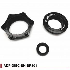 Adaptateur Boost Roue arrière Center Lock Fourier ADP-DISC-SH-BR301