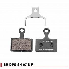 Plaquettes de freins semi-métal Fouriers BR-DPS-SH-07-S-F