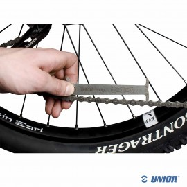 Vérificateur d'usure de chaine de vélo UNIOR 1644/4