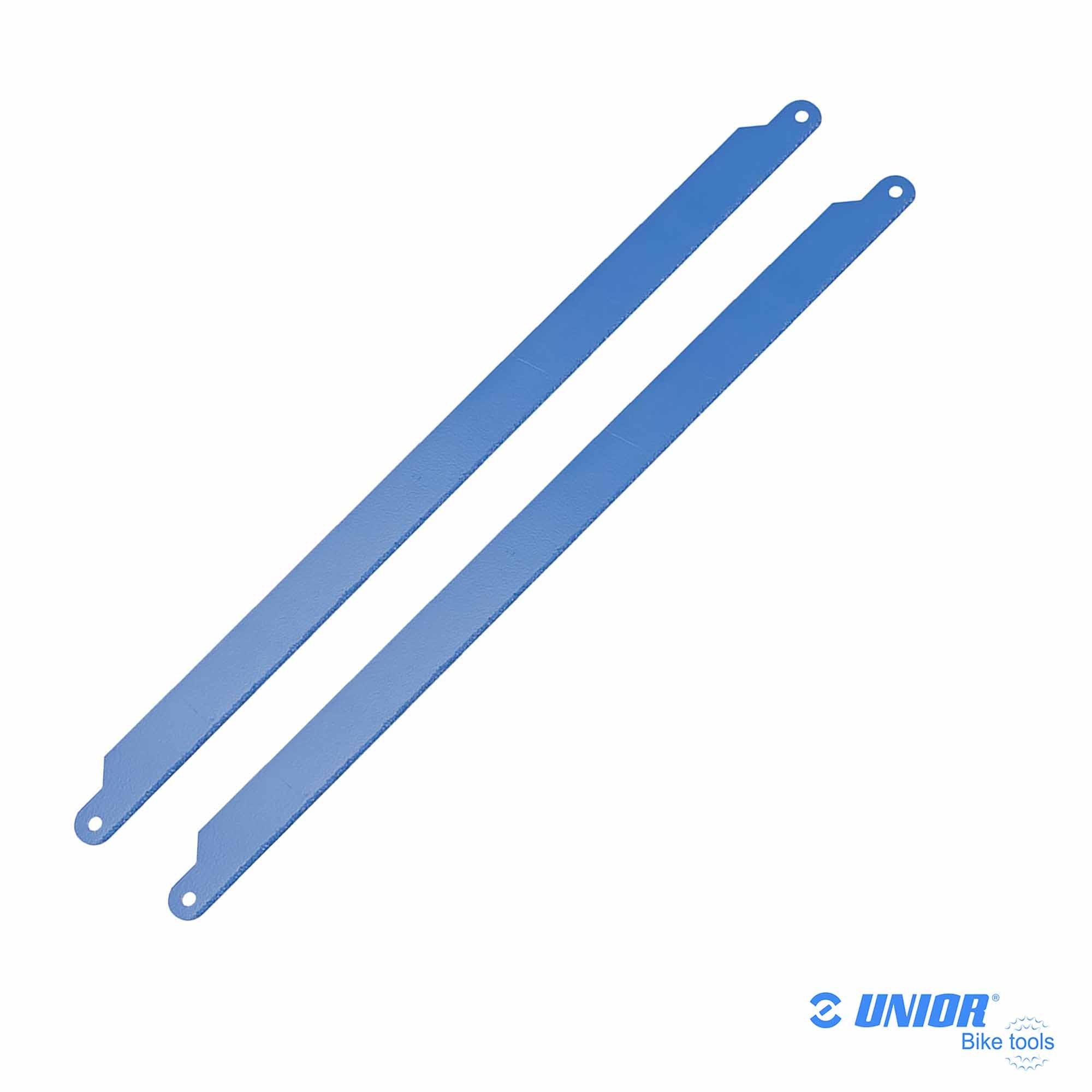 Lot 2 lames de scie à métaux UNIOR Carbone 750.1CAR