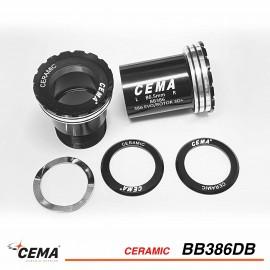 Boitier de pédalier CEMA 386 EVO Céramique pour SRAM DUB